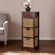 KENTON ONE-DRAWER/THREE BASKET STORAGE