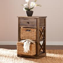 JAYTON ONE-DRAWER / TWO-BASKET STORAGE