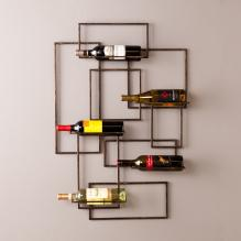 Valier Wall Mount Wine Sculpture
