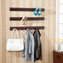 High Heel Shoe/Purse 3Pc Storage Rails