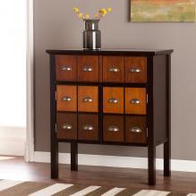 Hendrik Display Top Apothecary Cabinet