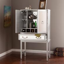 Mirage Mirrored Bar Cabinet