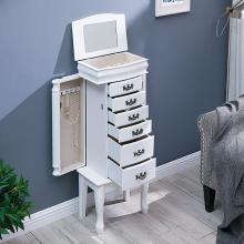 Broderick Freestanding Jewelry Armoire - Transitional Style