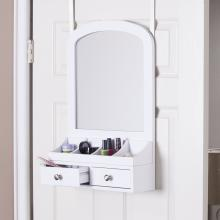 Myla Over-The-Door Jewelry Mirror/Accessory Organizer