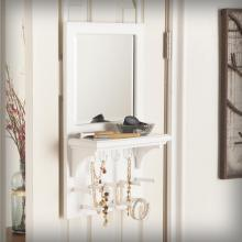 Tessa Over-the Door Jewelry Mirror/Anywhere Storage