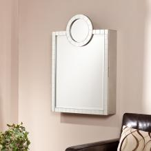 Bella Wall Mount Jewelry Mirror