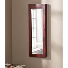 Stanfield Lighted Jewelry Mirror - Cherry