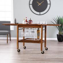Karymore Adjustable Kitchen Cart w/ Storage