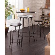 Holly & Martin Kalomar 3Pc Adjustable Pub Table & Stools