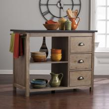 Denning Industrial Kitchen Island