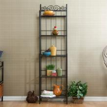 Celtic Bakers Rack - Gunmetal Gray