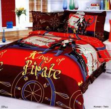 Korsan - Duvet Cover Bed In Bag - Twin Kids Bedding Juvenile Set