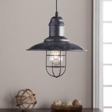 Ziller Industrial Bell Pendant Lamp