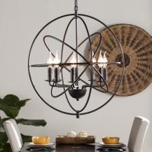 Stilaro 8-Light Atomic Globe Pendant Lamp