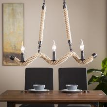 Trimmoni Twisted Rope Chandelier