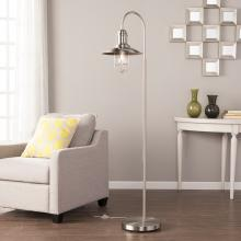 Pinsley Caged Bell Floor Lamp - Contemporary
