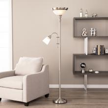 Palmer Floor Lamp - Brushed Nickel
