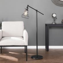 Trayden Floor Lamp - Contemporary Style - Black