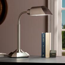 Ottlite Alton Task Table Lamp - Brushed Nickel