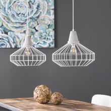 Brinland Cage Pendant Lamp Collection - 2pc Set