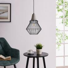 Brodiman Black Cage Pendant Lamp
