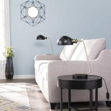 Troy End Table Lamp Collection - 2pc Set