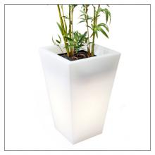 Hugo Pot - Outdoor Lamp And Planter - Tall