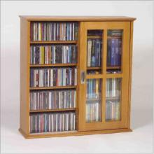 Sliding Door Mission-Style Media Cabinet