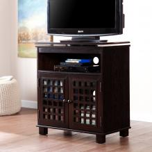 Narita Swivel Top Media Stand - Classic Espresso