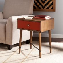 Norwich Accent Table - Red