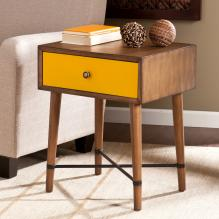 Norwich Accent Table - Yellow