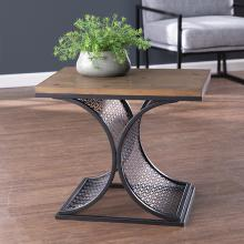 Chapnily Two-Tone Accent Table
