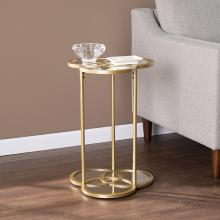 Shirland Geometric Accent Table