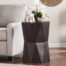 Tremont Accent Table- Antique Black