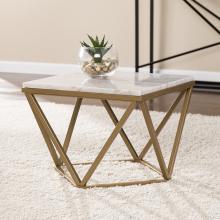 Marklin Marble Accent Table - Midcentury Modern Style