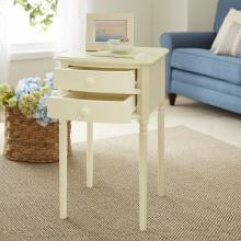 Avondale Tall Farmhouse Accent Table with Storage