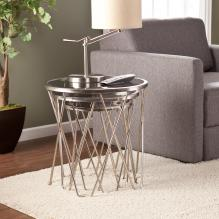 Voronsky Nesting Table 3pc Set - Satin Metal