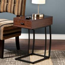 Porten Side Table W/ Power & Usb