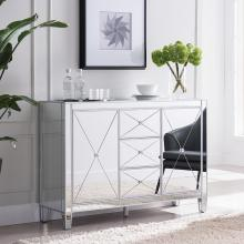 Mirage 3-Drawer Mirrored Cabinet