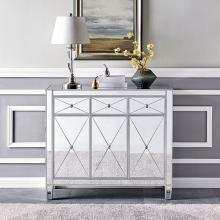 Mirage 3-Door Mirrored Cabinet
