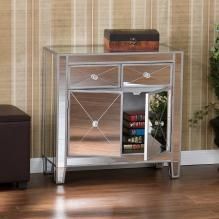 MIRAGE MIRRORED STORAGE CABINET