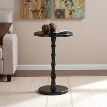 Rossum Round Accent Table - Black