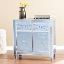 Mirage Colored Mirrored Cabinet - Blue