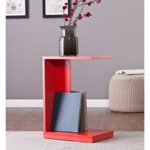 Holly & Martin Bocks C Table - Red-Orange