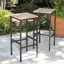 Venallo Indoor/Outdoor Barstools - 2pc Set