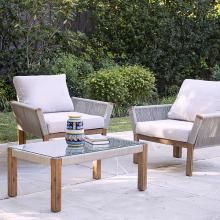 Brendina Outdoor Armchair w/ Cushions - 2pc Set
