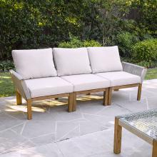 Brendina Outdoor 3-Seater Sofa