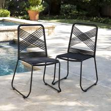 Padko Outdoor Rope Chairs – 2pc Set