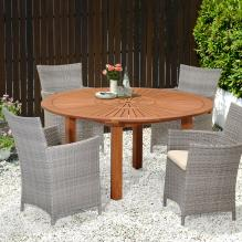Larmar Outdoor Round Table