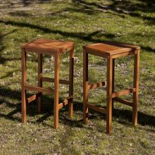 Trinidad Outdoor Barstools - 2Pc Set